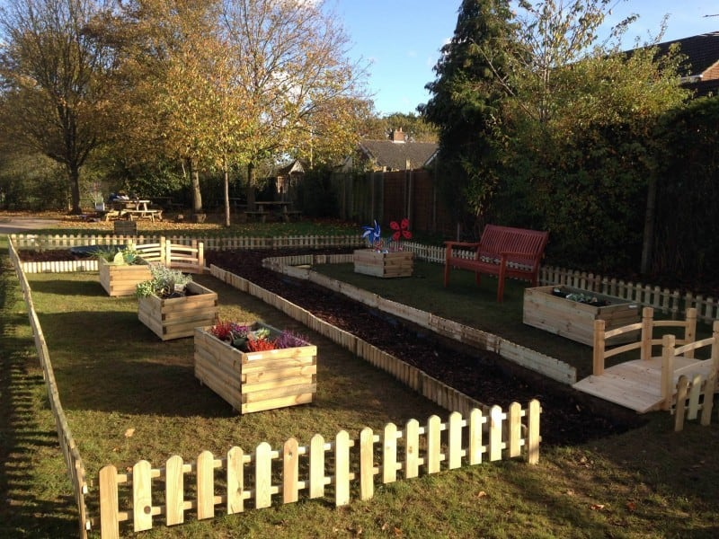 NCS team completes second garden in local primary school