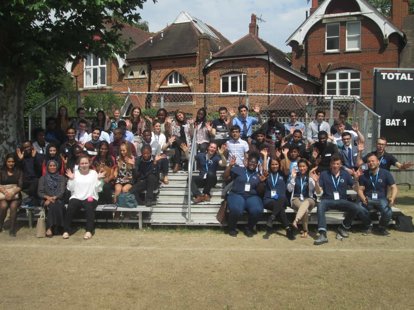 Aspirations are hotting up at Kings College School, Wimbledon