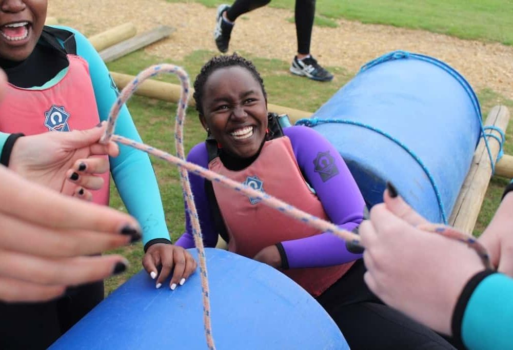 gsl raft building water activity