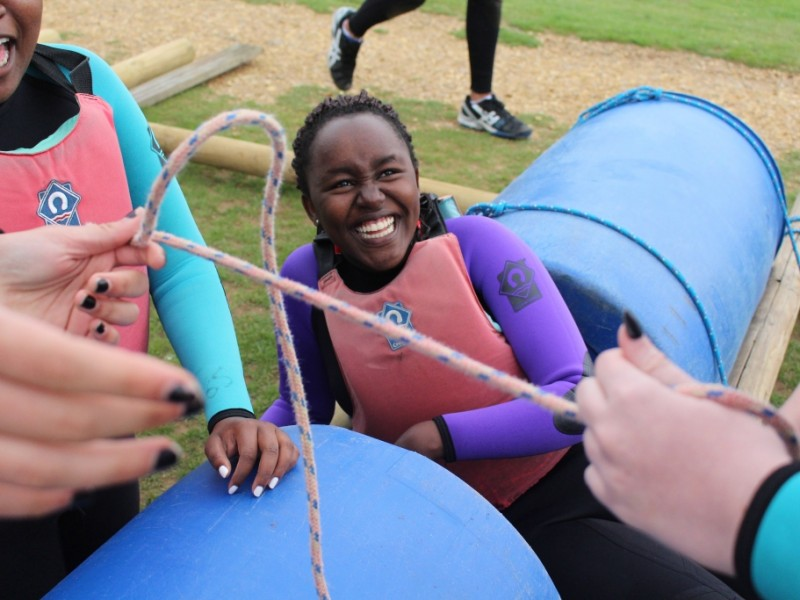 gsl raft building water activity