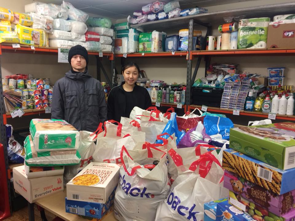 Chesterfield Teens Go On The Run For Bassetlaw Foodbank